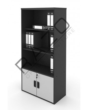 High Open Shelf Cabinet | Office Bookcase | Office Filing Cabinet  -AB741G