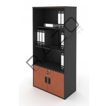 High Open Shelf Cabinet | Office Bookcase | Office Filing Cabinet  -AB741C