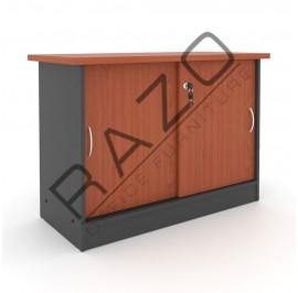 Sliding Door Side Cabinet | Office Bookcase | Office Filing Cabinet  -GS303C