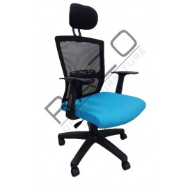 Executive Mesh Low Back Chair | Netting Chair | Office Chair - RMC-2