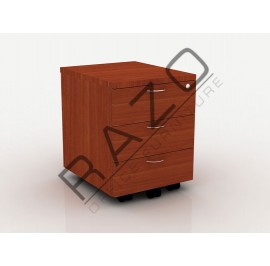 Mobile Pedestal 3D | Office Furniture  -QM3C