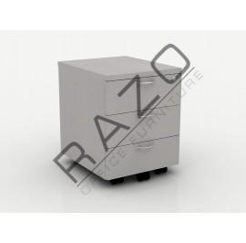 Mobile Pedestal 3D | Office Furniture  -QM3G
