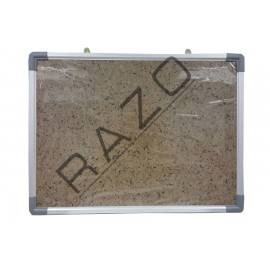 Bulletin Notice Board c/w Aluminium Frame 4' x 6'