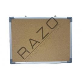 Cork Notice Board c/w Aluminium Frame 3' x 5'