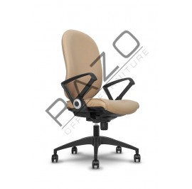 Modern Medium Back Office Chair | Office Chair -LR-002-MB