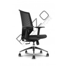 Modern Medium Back Office Mesh Chair | Netting Chair | Office Chair -PV-002-MB