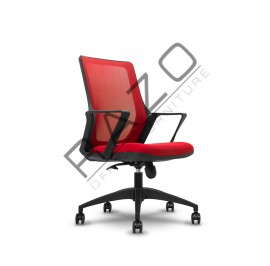 Modern Medium Back Office Mesh Chair | Netting Chair | Office Chair -MG-002-MB