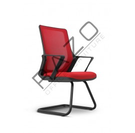 Modern Low Back Visitor Mesh Chair | Netting Chair | Office Chair -MG-003-SE