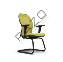 Modern Low Back Visitor Mesh Chair | Netting Chair | Office Chair -NR-003-SE
