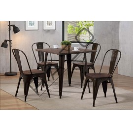 Bar Table Set | Dining Table Set | Bistro | Pub  - 10112DC-11002DTS