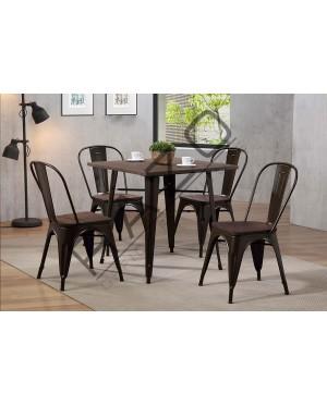 Bar Table Set | Dining Table Set | Bistro | Pub  - 10112DC-11002DTS