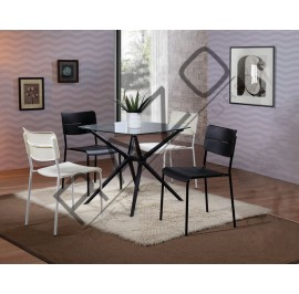 Modern Dining Table Set  - 11019DT-10105-PC