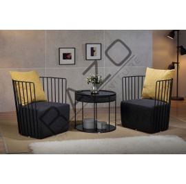 Modern Coffee Table Set | Cafe table set - 11048-11049TC