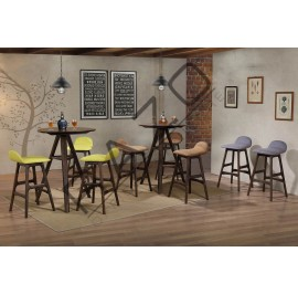 High Bar Table Chair Set | Bistro | Pub -D796T-796C
