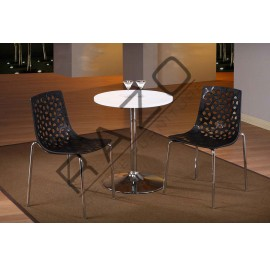 Modern Coffee Table Set | Cafe table set -D842T-849C-BL