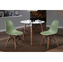 Modern Coffee Table Set | Cafe table set -D859T-853CG