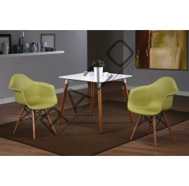Modern Coffee Table Set | Cafe table set -D860T-854CG