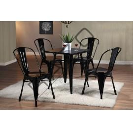 Modern Dining Table Set | Cafe Table Set -D861T-861CBL