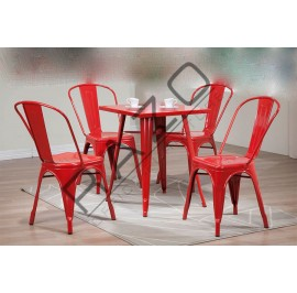 Modern Dining Table Set | Cafe Table Set -D861T-861CR