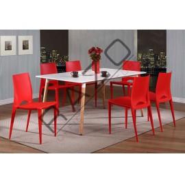 Modern Dining Table Set | Cafe Table Set -D872TW-873CR