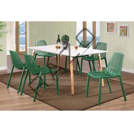 Modern Dining Table Set | Cafe Table Set -D872TW-875CG