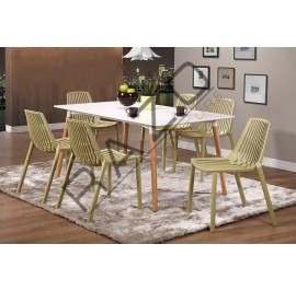 Modern Dining Table Set | Cafe Table Set -D872TW-875CY