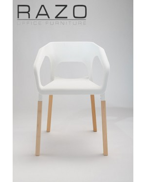 Designer Chair | Cafeteria Chair | Plastic Chair | Dining Chair | Restaurant Chair | Bar Chair -1002
