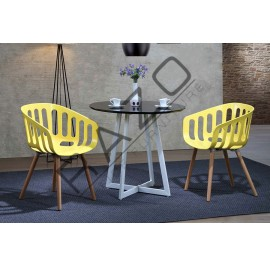 Modern Coffee Table Set | Cafe table set -D898T-896CY