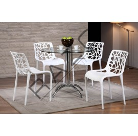Modern Coffee Table Set | Cafe Table Set -D8609T-856C