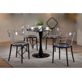 Modern Coffee Table Set | Cafe Table Set -D3157T-LC3170