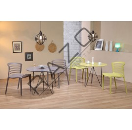 Modern Coffee Table Set | Cafe table set -ST893-D892C