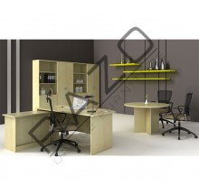Executive Table Set | Office Furniture -EXMB180AS