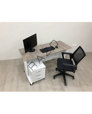 Office Table SET | Writing Table 4' x 2' DTS1260T4