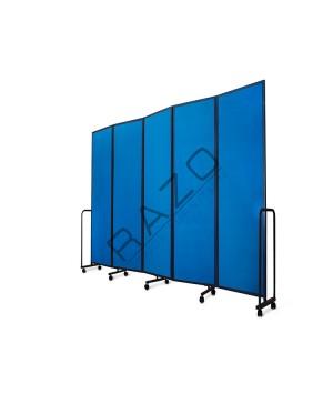 Mobile Fold 5 Panels LP5 Length of 3100 mm