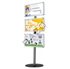 EO Tri-display Poster Stand EOPS (A3 & A4 Display)