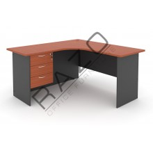 L shape Writing Table | Office Table  | Office Furniture -GL652-GH3C