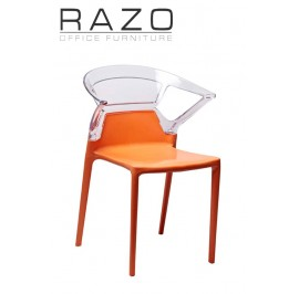 Designer Chair | Cafeteria Chair | Plastic Chair | Dining Chair | Restaurant Chair | Bar Chair -2006
