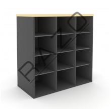 Pigeon Holes Low Cabinet | Office Furniture  -GP880M