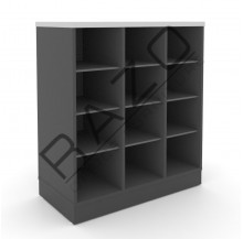 Pigeon Holes Low Cabinet | Office Furniture  -GP880BG