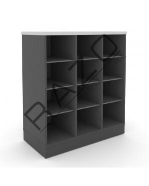 Pigeon Holes Low Cabinet | Office Furniture  -GP880BG