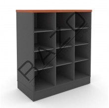 Pigeon Holes Low Cabinet | Office Furniture  -GP880BC