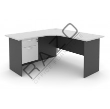 L shape Writing Table | Office Table  | Office Furniture -GL1515-GH2G