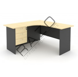 L shape Writing Table | Office Table  | Office Furniture -GL1515-GH3M