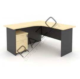 L shape Writing Table | Office Table  | Office Furniture -GL1515-GM2M