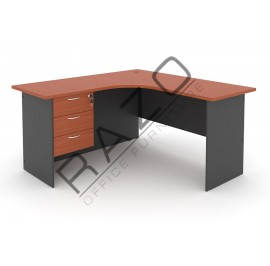 L shape Writing Table | Office Table  | Office Furniture -GL1815-GH3C