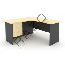 L shape Writing Table | Office Table  | Office Furniture -GL1815-GH3M