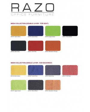Mesh Chair | Visitor Chair | Netting Chair | Office Chair -NT-23V