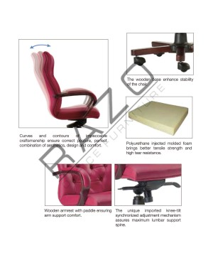Low Back Presidential Chair | Director Chair-E1053H