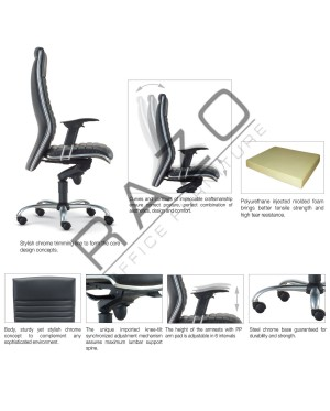 High Back Executive Chair | Office Chair -E618H