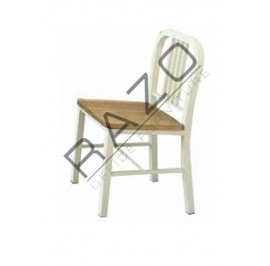 Cafeteria Chair | Restaurant Chair -SI-NAVY-Wood